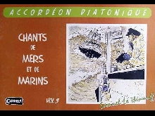 Accordéon diatonique Tablatures Chants de Marins n° 3 neuf avec CD